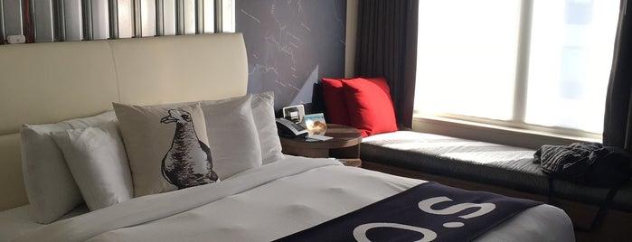 Hotel Zephyr San Francisco is one of สถานที่ที่ Saleem ถูกใจ.