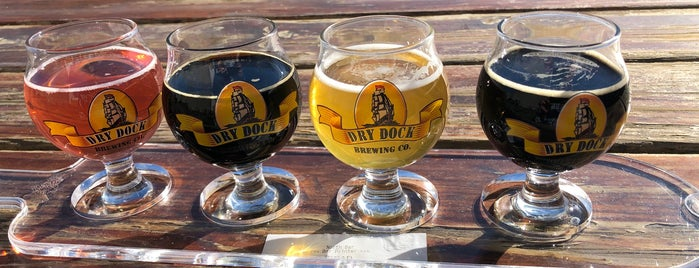 Dry Dock Brewing Company - North Dock is one of Tempat yang Disukai Ryan.