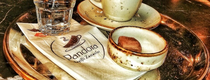 Pandora Cafe & Restaurant is one of Istanbul.