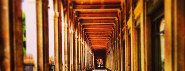 Jardin du Palais Royal is one of Paris.