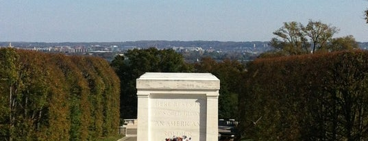 "Tomb of the Unknowns is one of My ""Bucket list""."