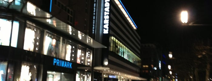 Karstadt sports is one of Highlights.