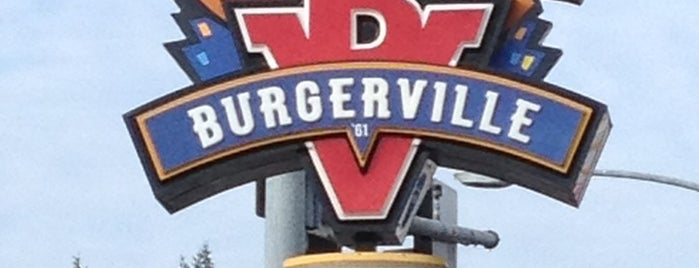 Burgerville is one of Top.