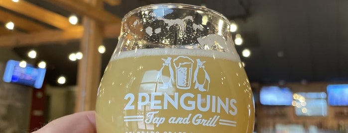 Two Penguins Tap & Grill is one of Denver.
