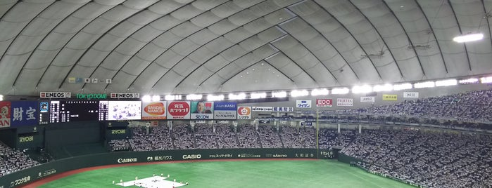 Tokyo Dome is one of 今まで行った野球場.