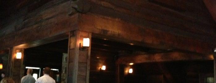 Meridian Restaurant & Bar is one of F&W's Coziest Restaurant.