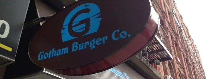 Gotham Burger is one of kosher manhattan: meat restaurants.