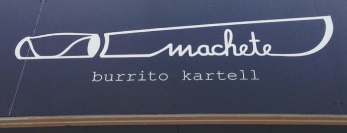 Machete is one of innsbruck food.