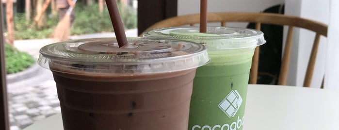 Cocoa Bar is one of 07_ตามรอย_coffee.