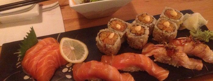 Saku Sushi is one of Tempat yang Disukai Juliana.