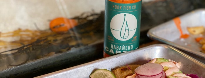 Hook Fish Co is one of An Arty Elitist's Guide to San Francisco.