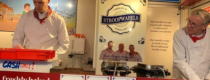 Rudi's Original Stroopwafels is one of amsterdam.