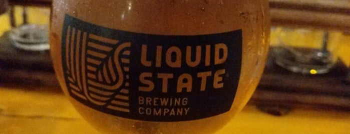 Liquid State Brewing Company is one of FINGER LAKES BEER TRAIL 2020.