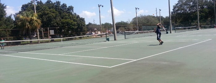 Himes Tennis Complex is one of Best of South Tampa Outdoors.