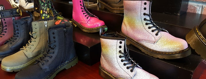Doc Marten's is one of Shopping/Services.