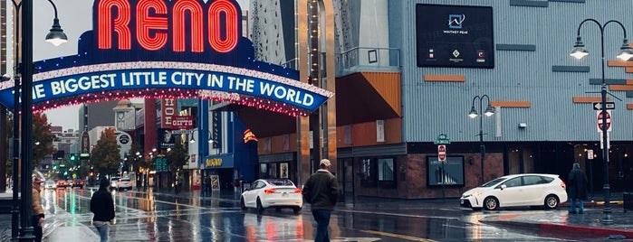 Downtown Reno is one of U.S. Road Trip.