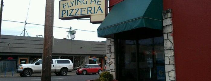 Flying Pie Pizzeria is one of Portland Faves.