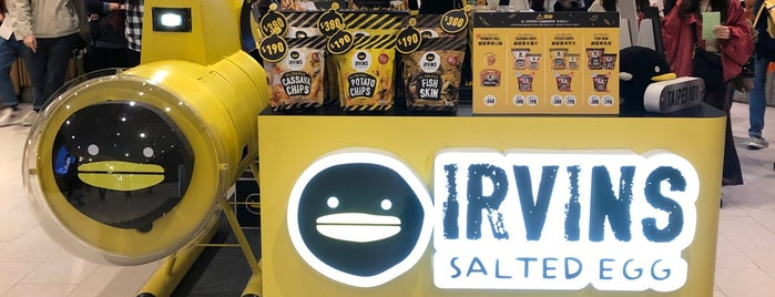 Irvins Salted Egg is one of Taiwan.