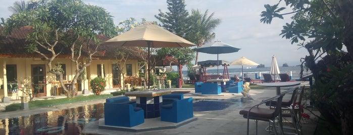 Bali Shangrila Beach Club is one of Locais curtidos por Abby.