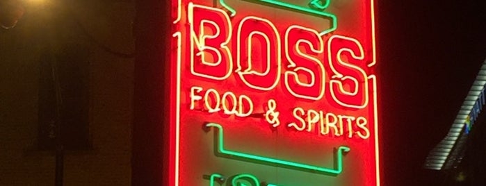 Boss Bar is one of Chicago Service Industry Discounts.