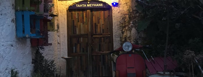 tahta meyhane is one of Lieux sauvegardés par Enise.