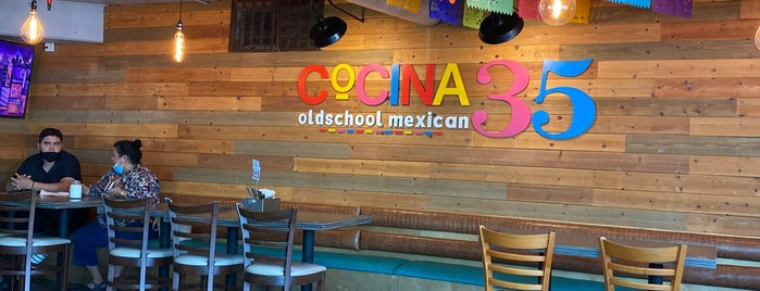 Cocina 35 Old School Mexican is one of CALIFORNIA.