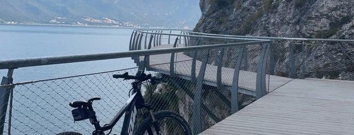 Ciclopista del Garda is one of Trips / Lago di Garda.
