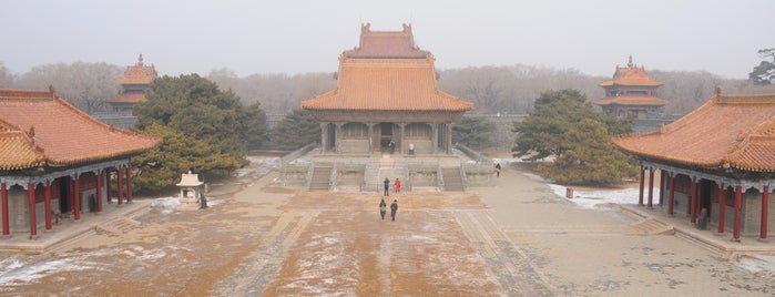 Zhaoling Tomb is one of Go back to explore: Shenyang.