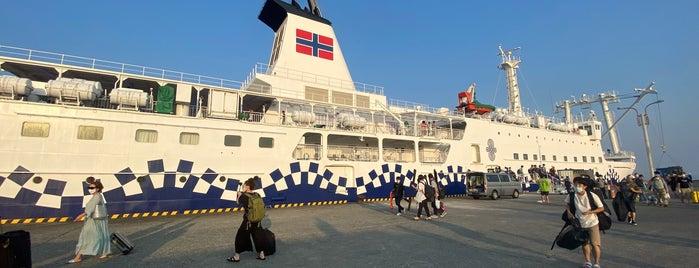 Okata Port is one of 高井'ın Beğendiği Mekanlar.