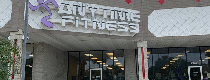 Anytime Fitness is one of My usual places.