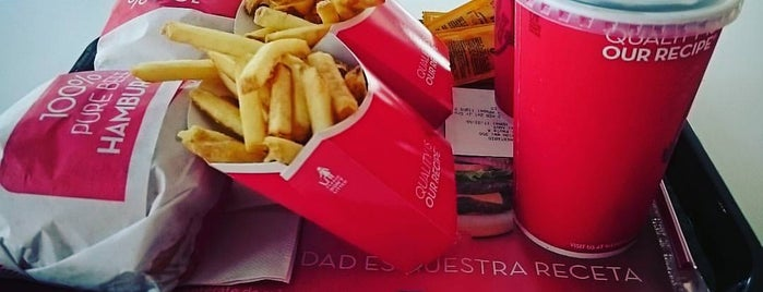 Wendy's is one of Santiago/Chile.