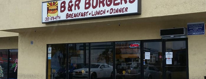 B & R'S Old Fashion Burgers is one of LOST Angels.