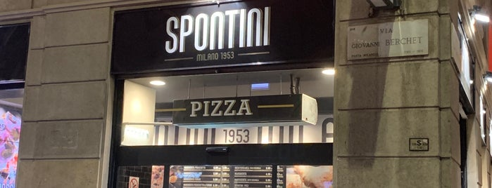Spontini is one of Lieux qui ont plu à Cristian.