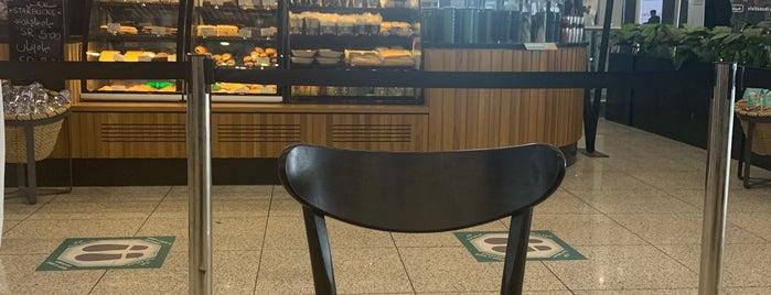 Starbucks is one of Orte, die Abdullah gefallen.