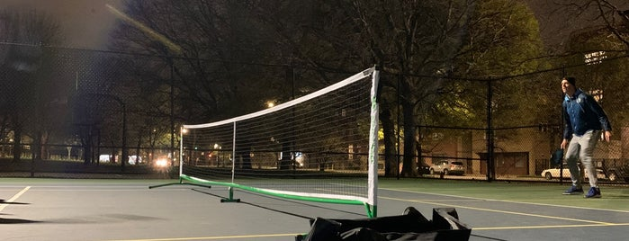 Horner Park Tennis Courts is one of workout.