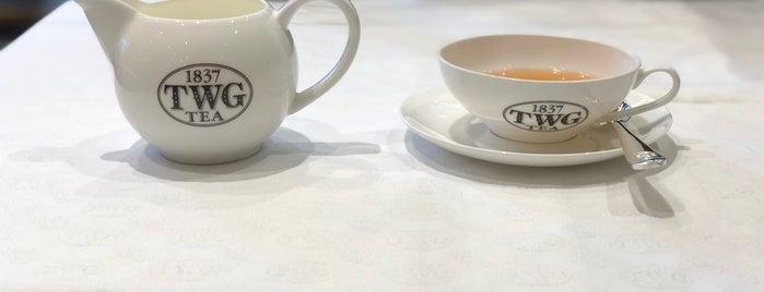 TWG Tea is one of Vancouver.