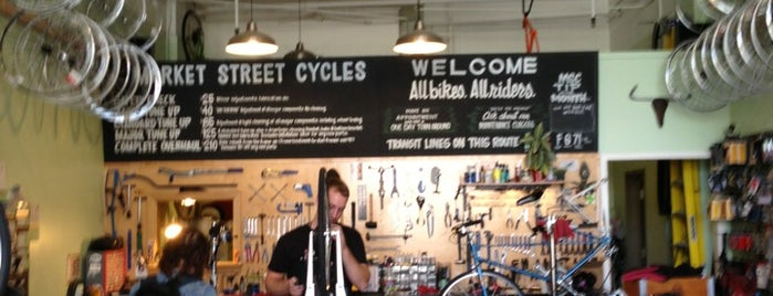 Market Street Cycles is one of chrissy.