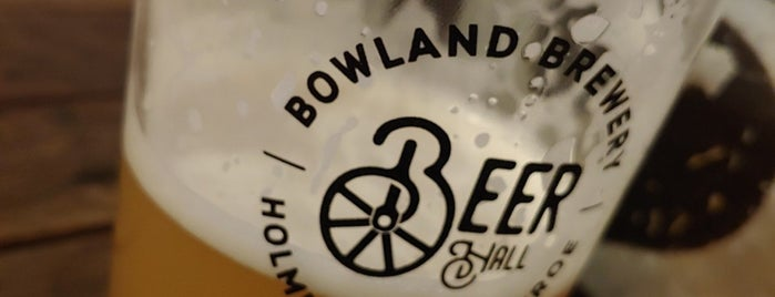 Bowland Brewery is one of Lugares favoritos de Louise.