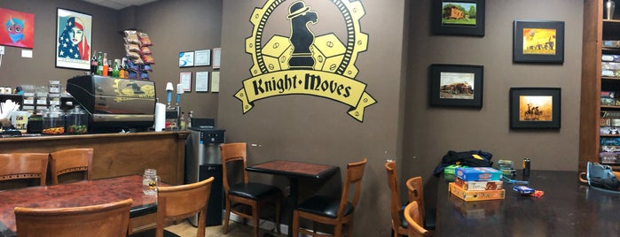 Knight Moves Café is one of Board Game Cafes.