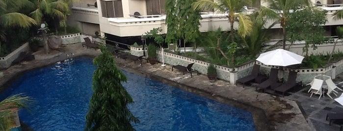 Hotel Santika Premiere Jogja is one of Jogjakarta.