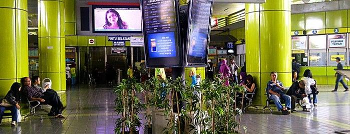 Stasiun Gambir is one of Jakarta. Indonesia.