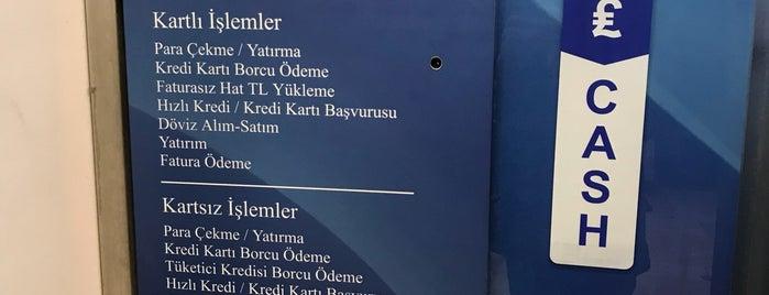 Türkiye İş Bankası is one of Lugares favoritos de Ali.