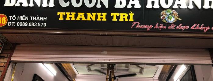 Bánh Cuốn Thanh Trì Bà Hoành is one of Vietnam.