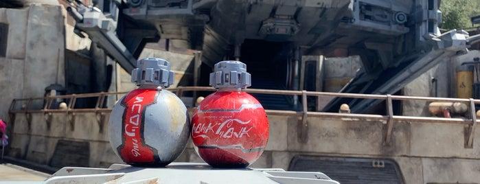 Star Wars: Galaxy's Edge is one of Orte, die Mark gefallen.