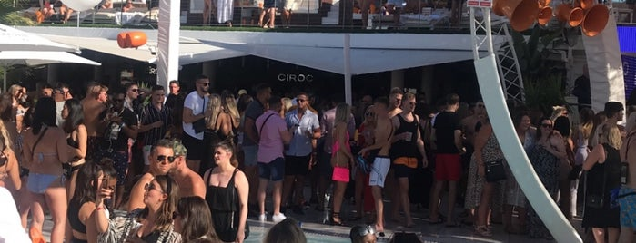 Ocean Beach Club is one of when in ibiza.