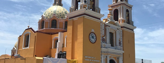 Santuario de Nuestra Señora de los Remedios is one of Carlos : понравившиеся места.