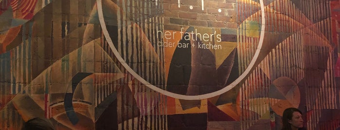 Her Father's Cider Bar + Kitchen is one of Patさんのお気に入りスポット.