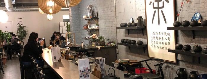 Icha Tea 一茶間 is one of Toronto.