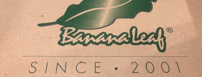 Banana Leaf is one of Philippines.