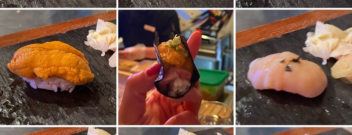 Sushi By Bou is one of NYC Faves.